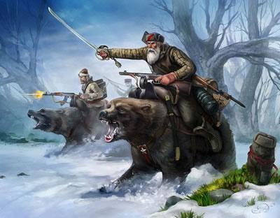 Партизаны на медведях