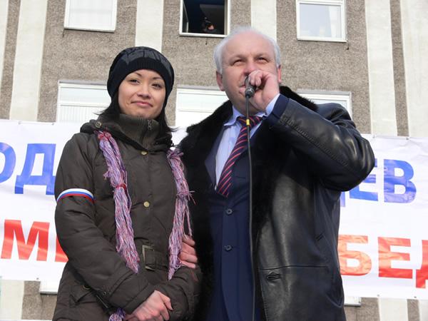 Эту девушку Виктор Зимин назвал символом Хакасии