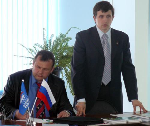 Андрей Лабун и Иван Шабанов