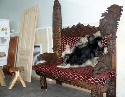 Лавочка, на которой сидел Шойгу