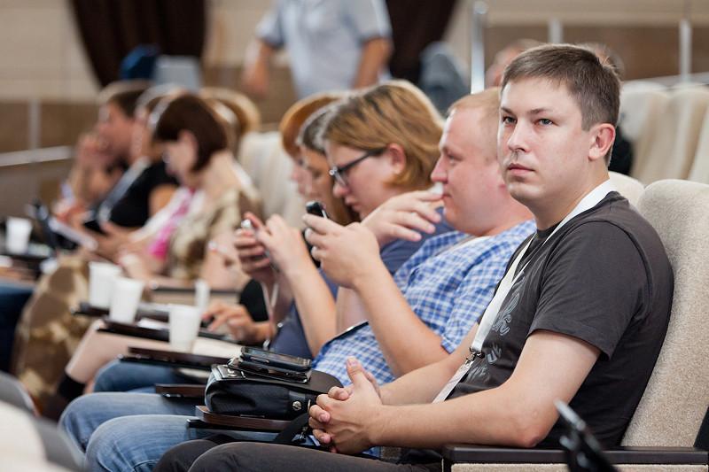 Фостер на блогосаммите. Фото Ани Кульченко. http://kulchenko.livejournal.com/