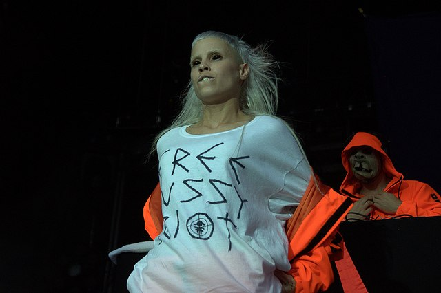 Die Antwoord и Pussy Riot