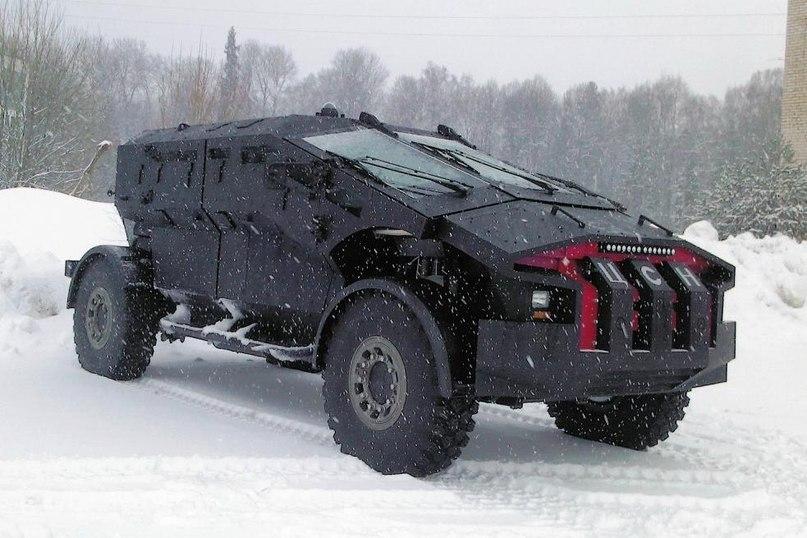 Российский бронеавтомобиль Каратель
