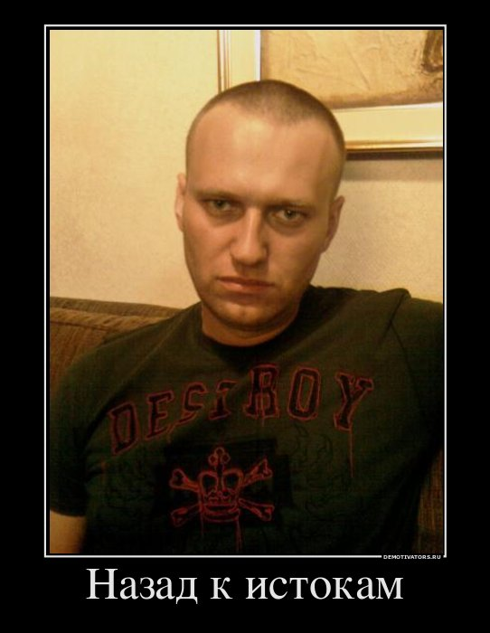 Навальный демотиватор