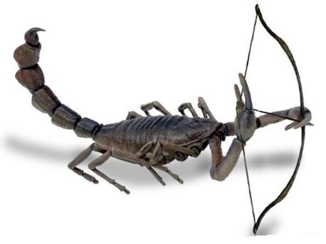 Скорпион и стрелец. Фото www.syl.ru