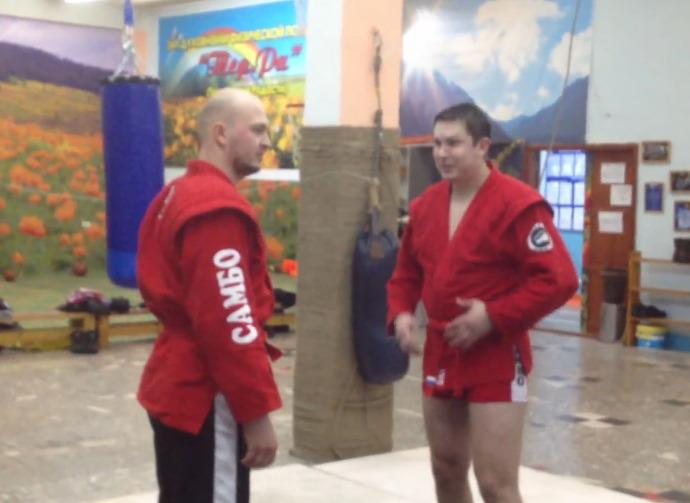 Куртка для боевого самбо