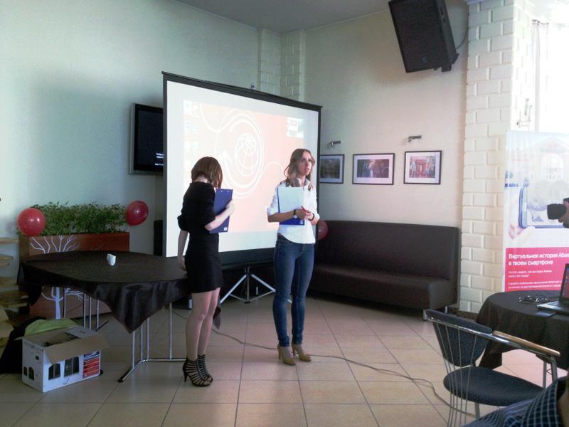 Маша и Аня. quiz-викторина МТС в Хакасии