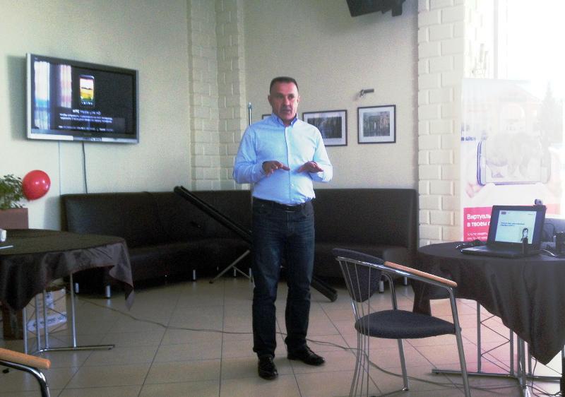 Григорий Чернов, директор филиала МТС в Хакасии