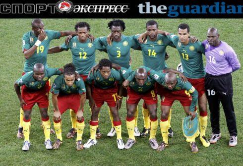 Сборная Камеруна по футболу 2014
