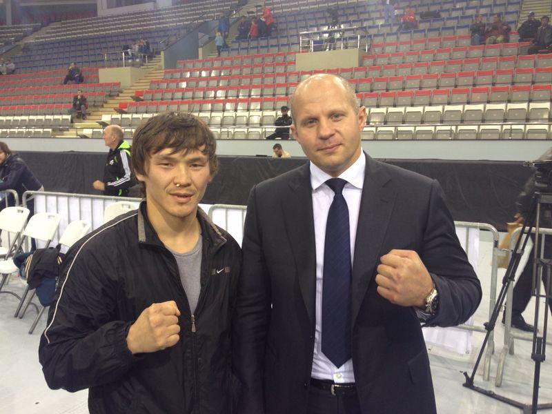 Станислав Челтыгмашев и Фёдор Емельяненко