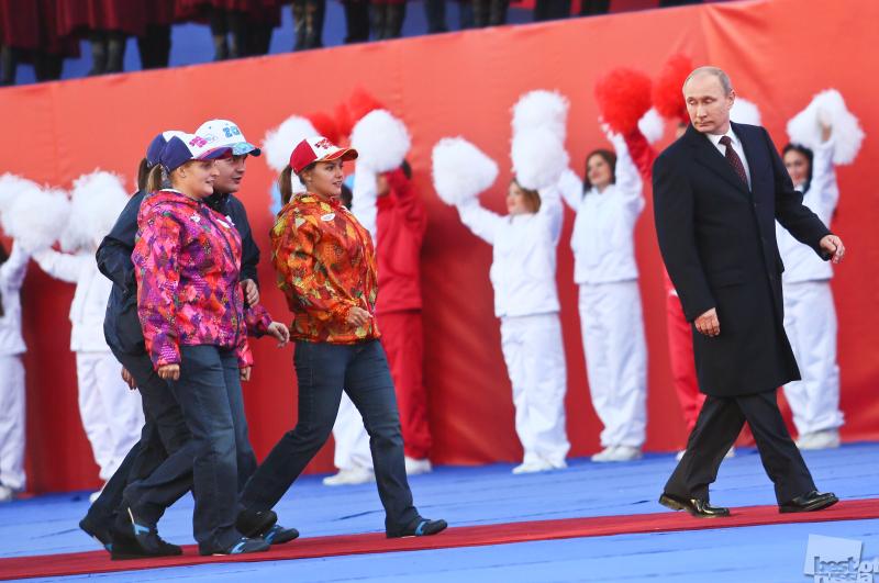 Путин, дети, дядя