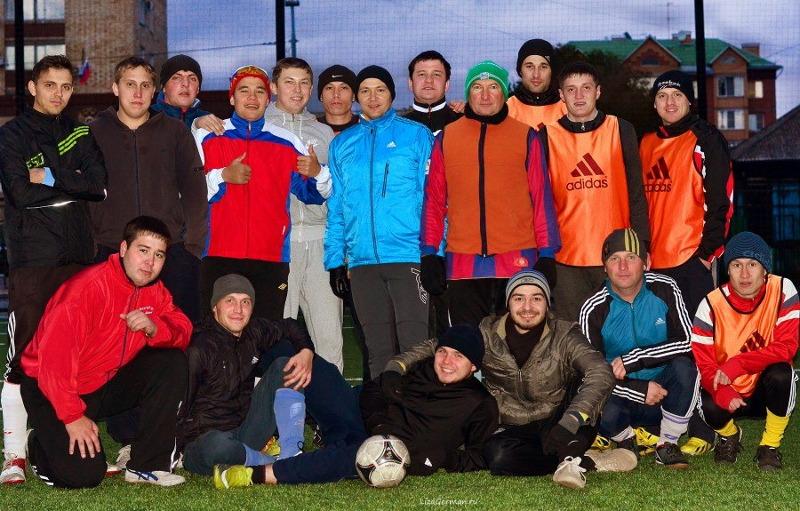 Наша футбольная команда