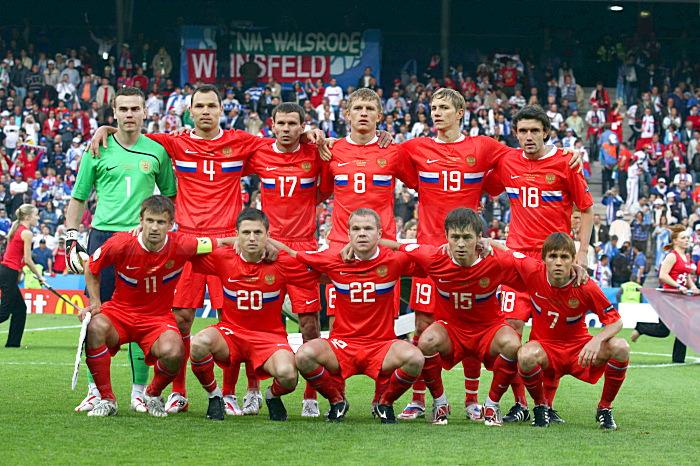 Сборная России на Евро 2008