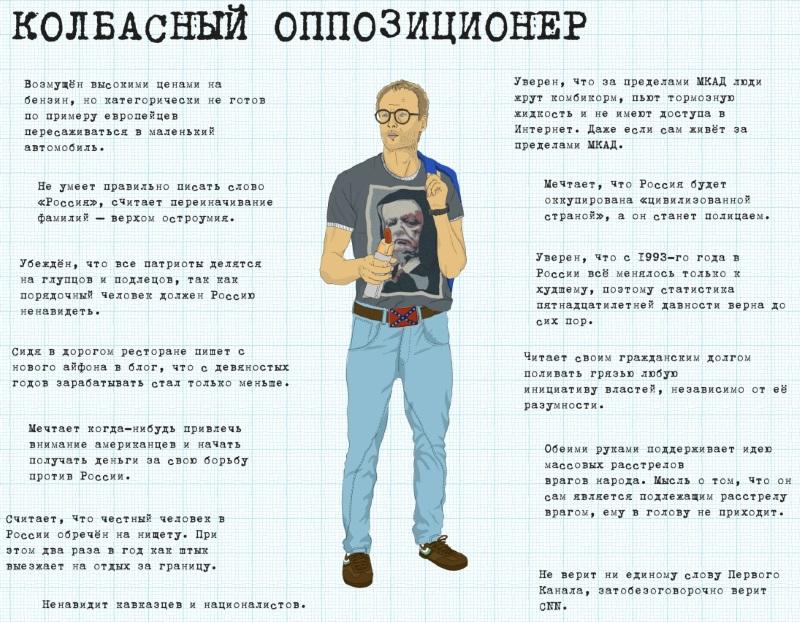 Колбасный оппозиционер. Изображение nnm.me