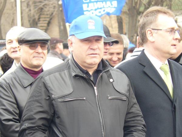 Виктор Зимин. Фото 1 мая 2009 года