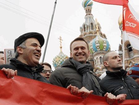 Каспаров и Навальный. Фото politonline.ru