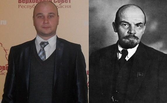 Андреев и Ленин